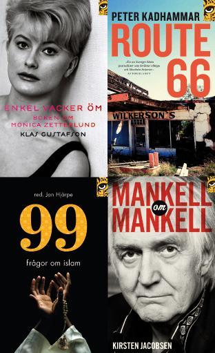 Pocketnyheter från Leopard förlag: Monica Z, Mankell, Route 66 och 99 frågor om islam