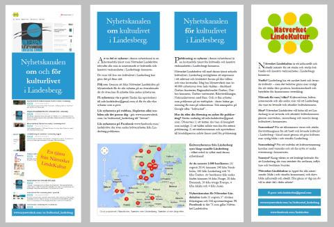 Nyhetskanalen om och för kulturlivet i Lindesberg
