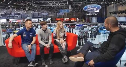 Ford interview @ Geneva Motor Show 2017: Challenges in motorsport