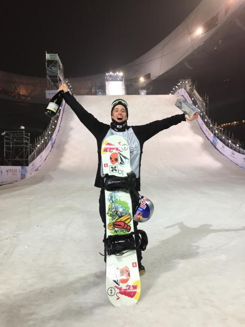 Marcus Kleveland vant Air+Style Beijing