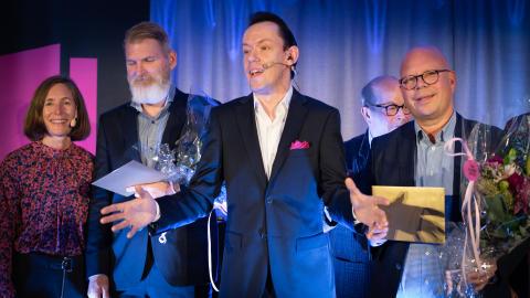 Visa vägen-vinnare prisades i Uppsala