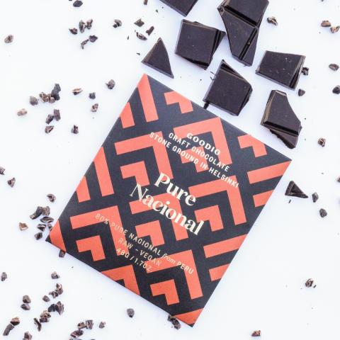 Suomalaiselle Goodiolle hopeaa kansainvälisessä Academy of Chocolate -suklaakilpailussa