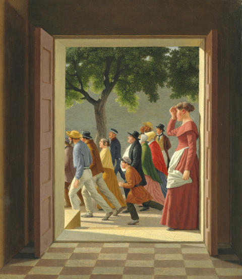 The National Gallery of Denmark Ensures that Historic Painting by Eckersberg Will Remain in Copenhagen