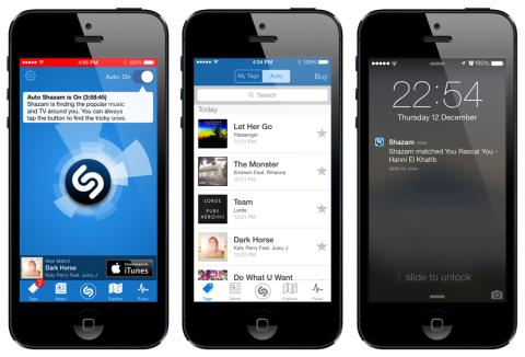 Auto Shazam Automatically Recognizes Music and TV Around You