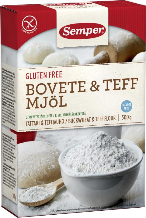 Bovete & Teff Mjöl