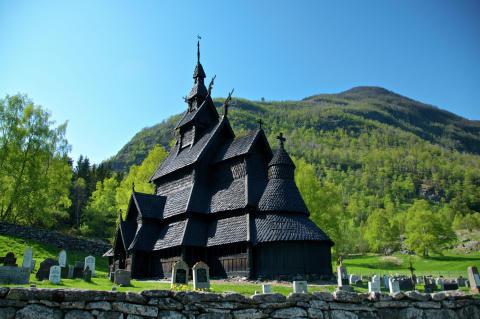 Die Stabkirche in Borgund