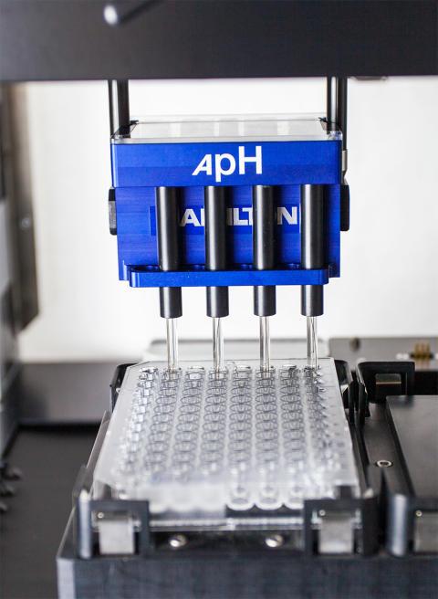 High throughput automatic pH measurement for your Hamilton liquid handler