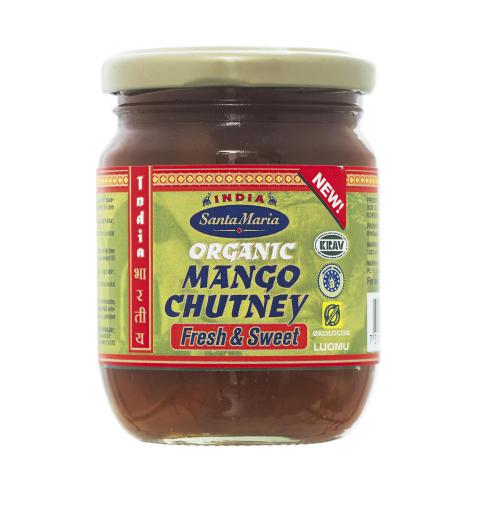 Santa Maria Organic Mango Chutney