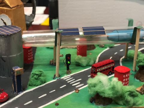 Elever skapar innovativa och hållbara transportlösningar