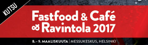KiiltoClean mukana Fasfood & Café & Ravintola 2017 -tapahtumassa