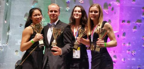 Simon, Johanna, Julia och Ellinor – Europas bästa truppgymnaster 2016
