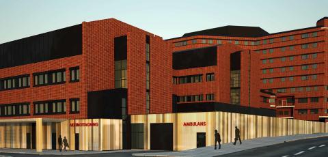 Arcona bygger om S:t Görans sjukhus