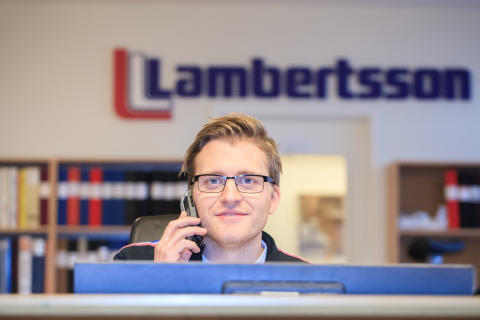 Lambertsson Sverige uthyrning av maskiner