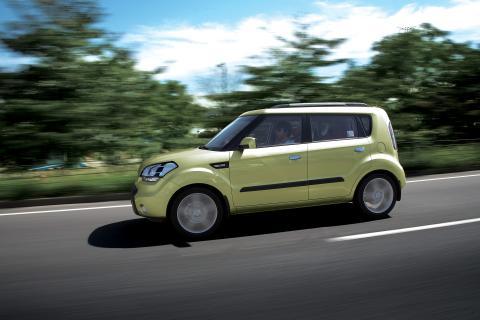Kia Soul – en ovanligt rymlig liten bil