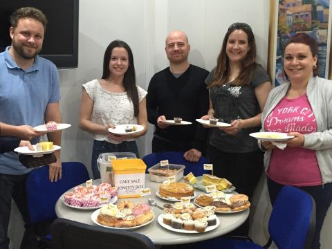 Fred. Olsen staff charity day raises £250 for three local causes