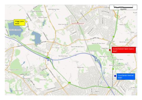 Murders in Barnet and Elstree