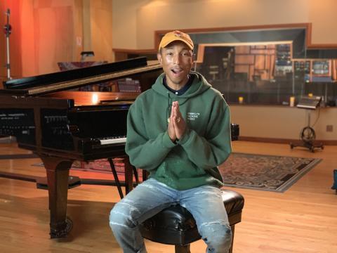 """Pharrell Williams i """"Activate: Et globalt initiativ"""""""