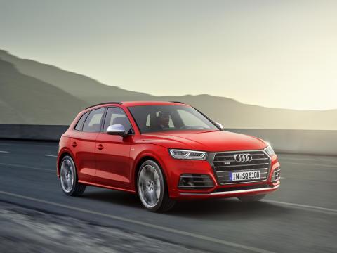 Ny Audi SQ5 3.0 TFSI