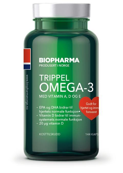 Biopharma Trippel Omgea-3