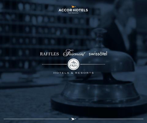 AccorHotels förvärvar klassiska hotellkedjorna Fairmont, Raffles och Swissôtel