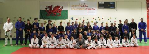 Future jiu jitsu stars taught by world champion at 2nd UKBJJA Junior Development Day