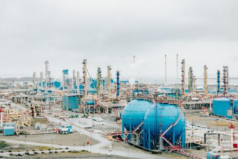 Gasaufbereitungsanlage Kårstø