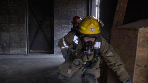 Brandmännen blir uppkopplade