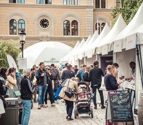 Matologi – kunskapsfestivalen om hållbar mat återvinner temat