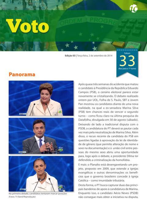 Voto #3 - Boletim das Eleições 2014