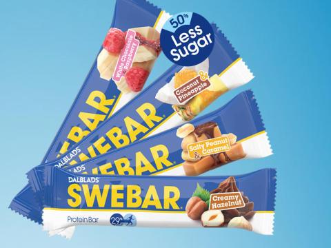 Nya smaker för SWEBAR och ny design för Dalblads