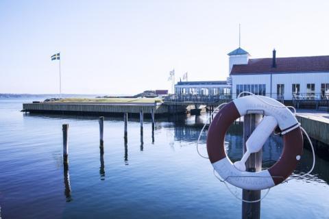 Gullmarsstrand certifierat via Nordens officiella  miljömärkning Svanen