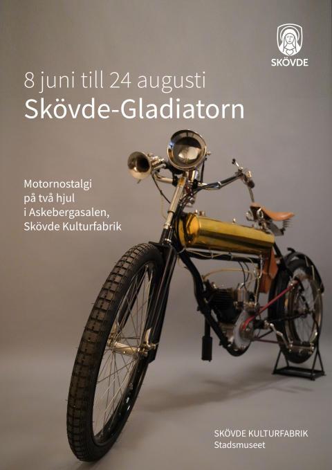Motornostalgi på två hjul i Skövde Kulturfabrik