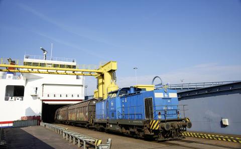 Rail and Sail mit Stena Line: Erster direkter Güterzug von Wien nach Trelleborg