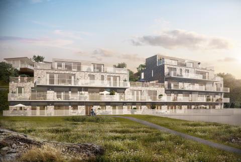 Villa Pilträdet - Dreem arkitekter ritar havsnära bostäder i Strömstad