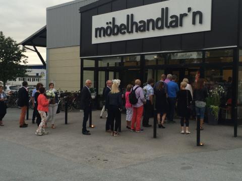 Möbelhandlar'n öppnar på Aspholmen i Örebro
