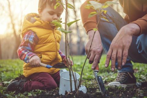 Odla med barnen för växande välmående och ökad kunskap