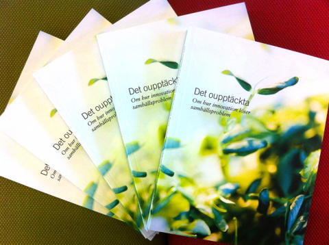 Det oupptäckta – RISE-bok om forskningens hållbarhetsutmaningar