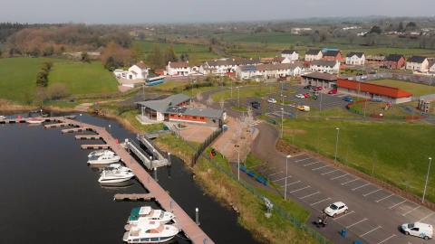 Prestigious angling competition docks in Portglenone