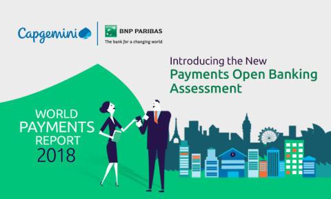 World Payments Report 2018:  Sverige har nu flest kontantfria betalningar i världen per capita