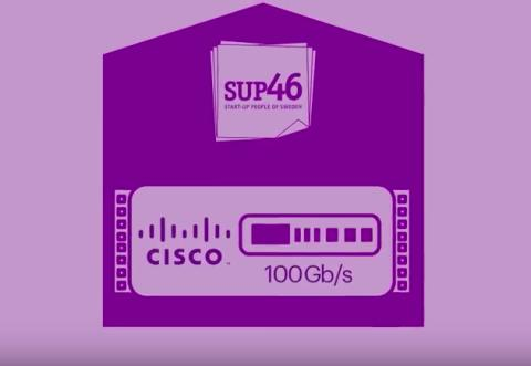 SUP46 connected to Internet backbone with up to 100Gb/s