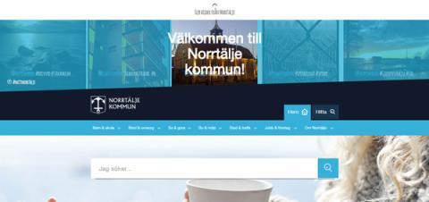 Norrtälje kommun höjer effektiviteten med sin nya webbplats