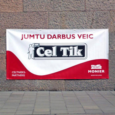 Banderoll Celtic Monier