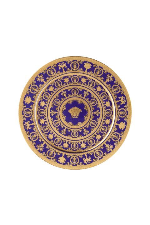 RmV_I Love Baroque_Bleu_service plate