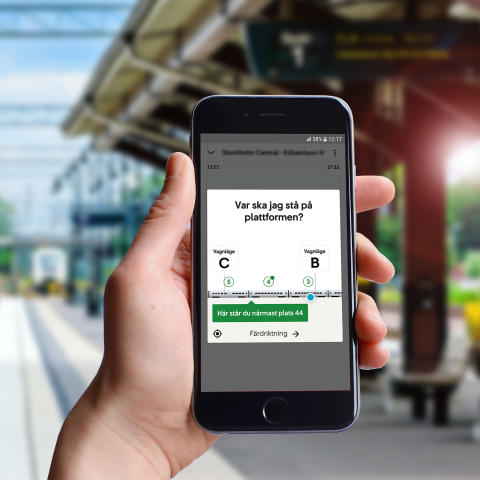SJs mobilapp nominerad till Svenska Designpriset igen