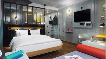 25Hours Hotel Le Tour, Düsseldorf, by Stylt