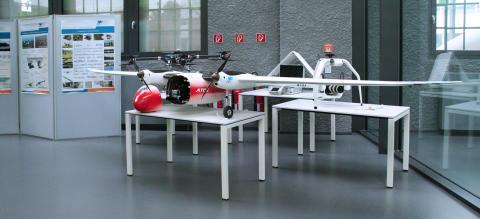 Technische Hochschule Wildau auf der AERO 2015 in Friedrichshafen