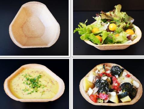 Füllett essbare Schalen für den Cateringbedarf