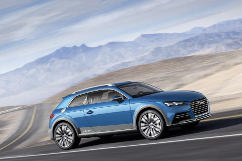 Audi visar ny konceptbil i Detroit – Audi allroad shooting brake