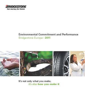 Bridgestone Europe publicerar 2011 års miljörapport