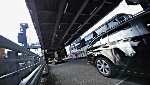 Häfen auf Rostock–Gedser